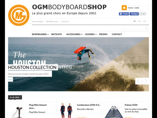Plus d'information sur: : OGM Bodyboard shop