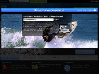 Plus d'information sur: : Surfrider Foundation Europe