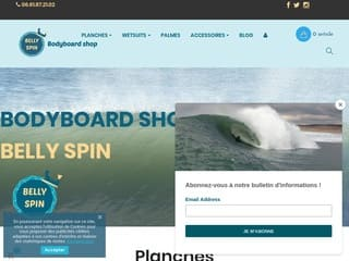 Détails : Belly Spin Bodyboard Shop