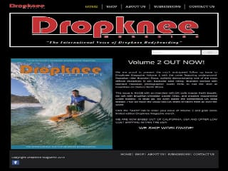 Plus d'information sur: : Dropknee Magazine