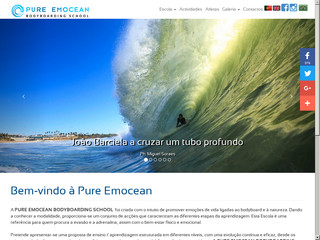 Pure Emocean - Bodyboard School au Portugal