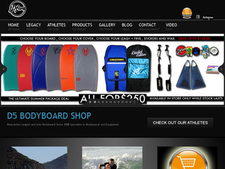 District 5 bodyboard shop