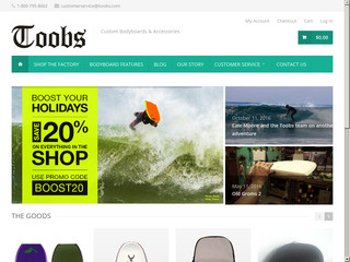 Détails : Toobs Bodyboards